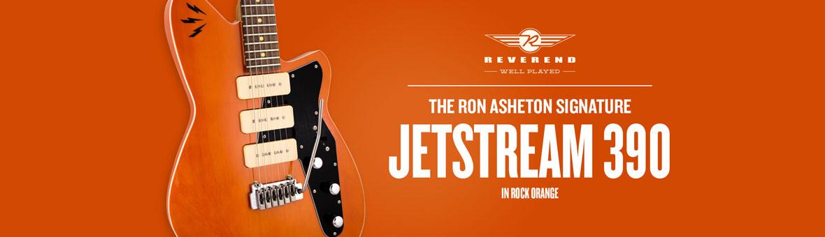 Reverend Ron Asheton Jetstream 390 Banner