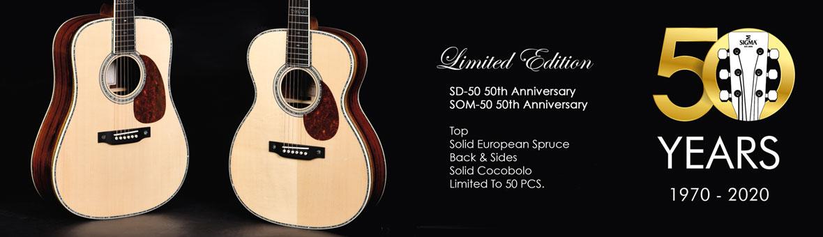 Sigma Limited Edition Guitars