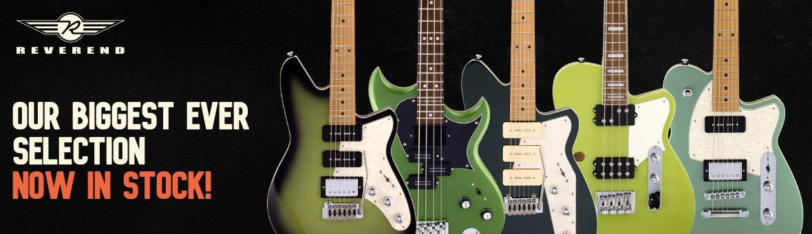 New Reverend Guitars In Stock