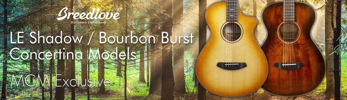 Breedlove Concertina Limited Edition Guitars