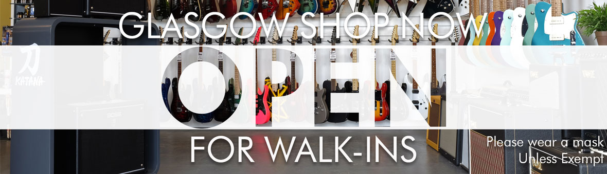 Shop Open for Walk-Ins