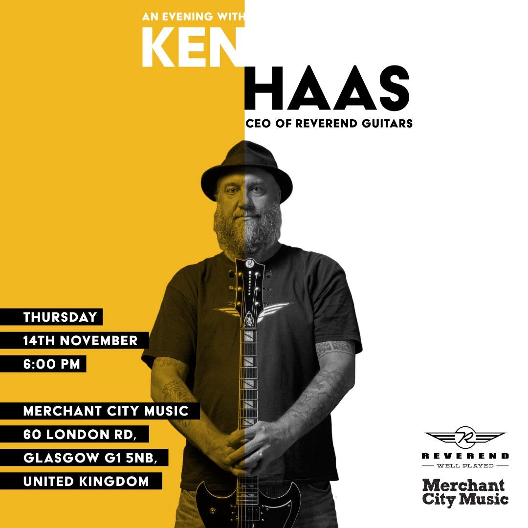 Ken Haas at Merchant City Music