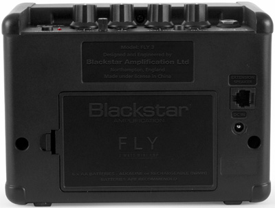 Blackstar Fly 3 Mini Battery Guitar Amp Back