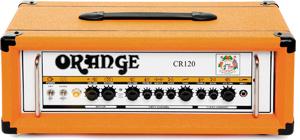 Orange Crush CR120H Amp Head Top Angle